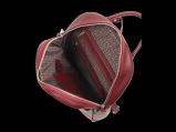 Кожаный  женский рюкзак среднего размера., Рюкзаки из натуральной кожи